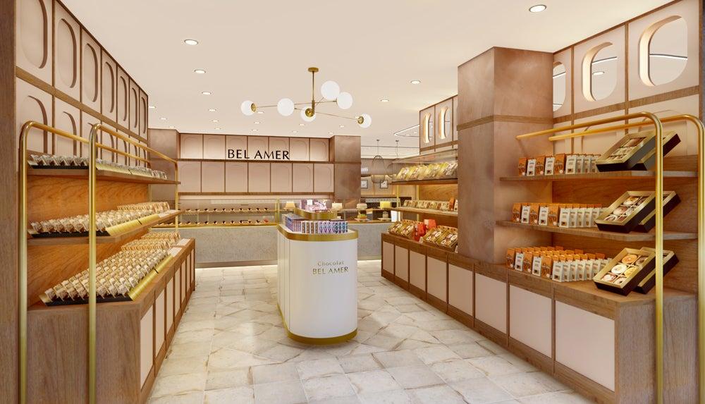 【NewOpen】ショコラ専門店『ベルアメール』&『カフェ ベルアメール』併設の新たな路面店登場