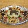 ラブラドールレトリーバー「ジェーンちゃん」のBirthdayケーキの画像