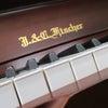 アンティーク家具調コンソールピアノ J.&C.Fischer BJ113DSの画像