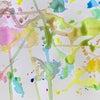 【教室レポート】3色の色水から生まれた、美しい偶然の色と形の画像