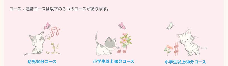 あざみ野たまプラーザピアノ教室ポロニア コース・受講料の猫ちゃんたち