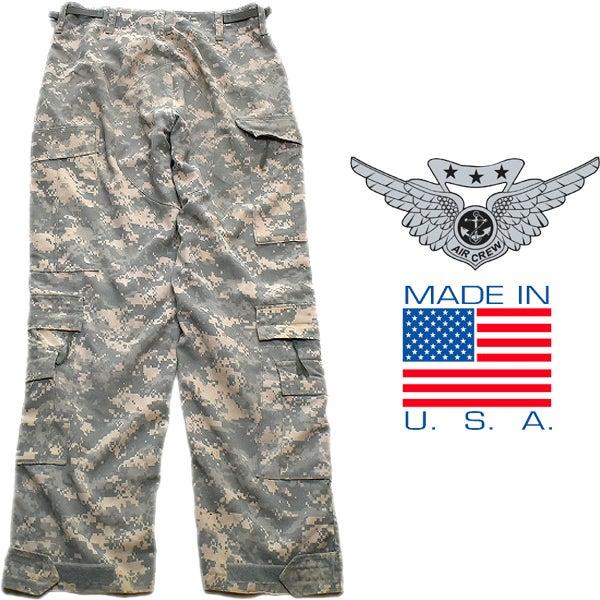 米軍放出デジカモ迷彩柄カーゴパンツ古着屋カチカチ