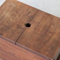 画像 厚みのあるケヤキ無垢材の米びつ(収納箱)のご紹介です。 の記事より 7つ目