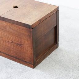 画像 厚みのあるケヤキ無垢材の米びつ(収納箱)のご紹介です。 の記事より 5つ目