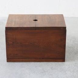 画像 厚みのあるケヤキ無垢材の米びつ(収納箱)のご紹介です。 の記事より 4つ目