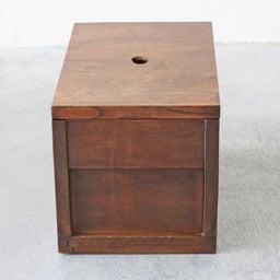 画像 厚みのあるケヤキ無垢材の米びつ(収納箱)のご紹介です。 の記事より 3つ目