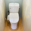 トイレ設置、ピュアレストQR。