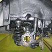 【E51エルグランド】ロアアーム・ハブB/G・パッド&ローターフル交換!塩害防止塗料もね。②