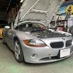 トラブル修理-BMW Z4(E85)SMG不良 エンジンがかからない&ギアが入らない他
