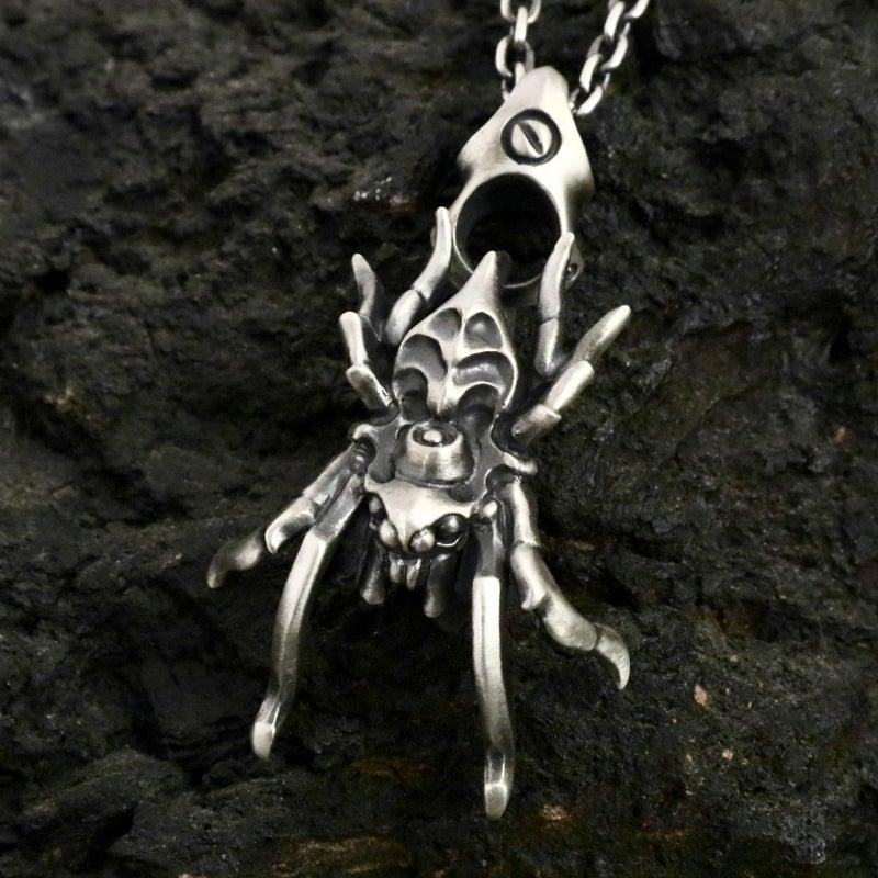 glam scale silver geeks グラムスケイル 蜘蛛 スパイダー 限定 新作 ペンダント シルバーギークス