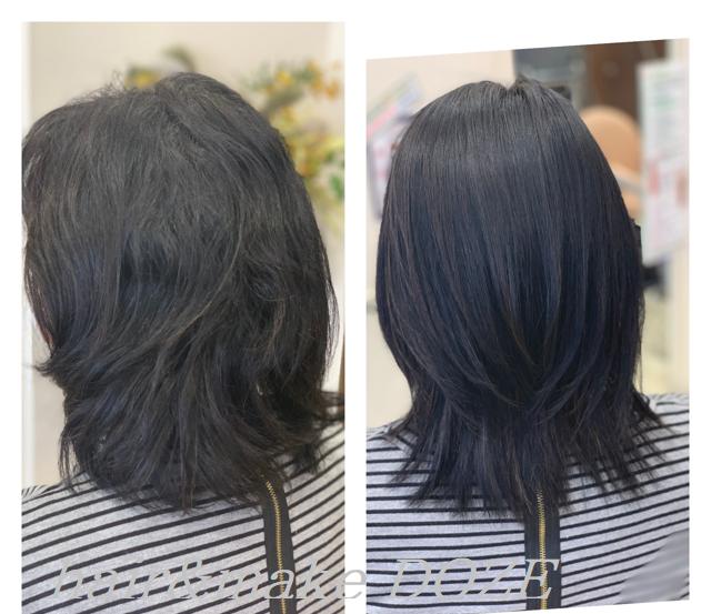 ドーゼの髪質改善プレミアムトリートメントへの取り組み。