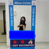 インド在住ママ友もワクチン接種!の画像