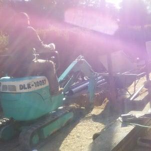【施工事例】タイル貼りの箇所の下水道工事の画像