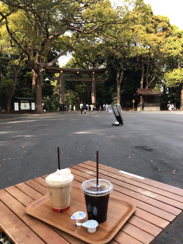 明治神宮のカフェが最高に気持ちいい!