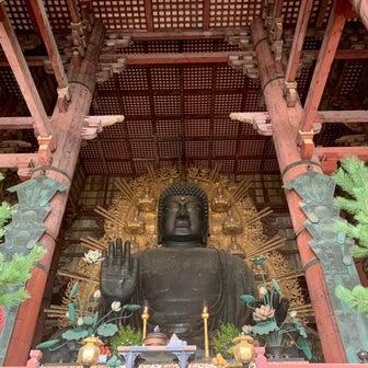 大仏殿の中*奈良*