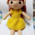 女の子たち #人形 #妻の手作り #編み物