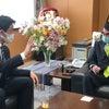 河野太郎大臣に面談 ワクチンやタクシーのダイナミック・プライシングについての画像