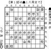 将棋名人戦:斎藤、初戦を劇勝の画像