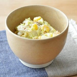 【副菜 作り置き】優しい甘みとシャキシャキ感がおいしい!白菜とコーンのサラダの画像
