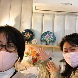画像 画廊喫茶蜜さんでのトールペイント作品展第1日目始まりました! の記事より 6つ目