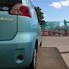 TOYOTA Porte  車のシート洗浄の画像
