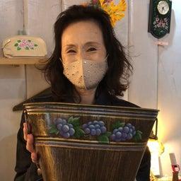 画像 画廊喫茶蜜さんでのトールペイント作品展第2日目 の記事より 8つ目