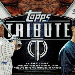 画像 MLB 2021 Topps Tribute Baseball カード新商品情報! の記事より 1つ目