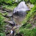 女神三滝 白糸の滝2