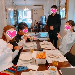 海外の彼と同じ食卓につく❤️の画像