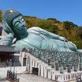 世界一の釈迦涅槃像は福岡県篠栗町の南蔵院に横たわっていました