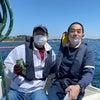 4月11日  冬模様の葉山沖の画像