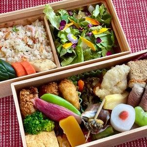 「日本料理 e.」さんのお弁当を再び…の画像
