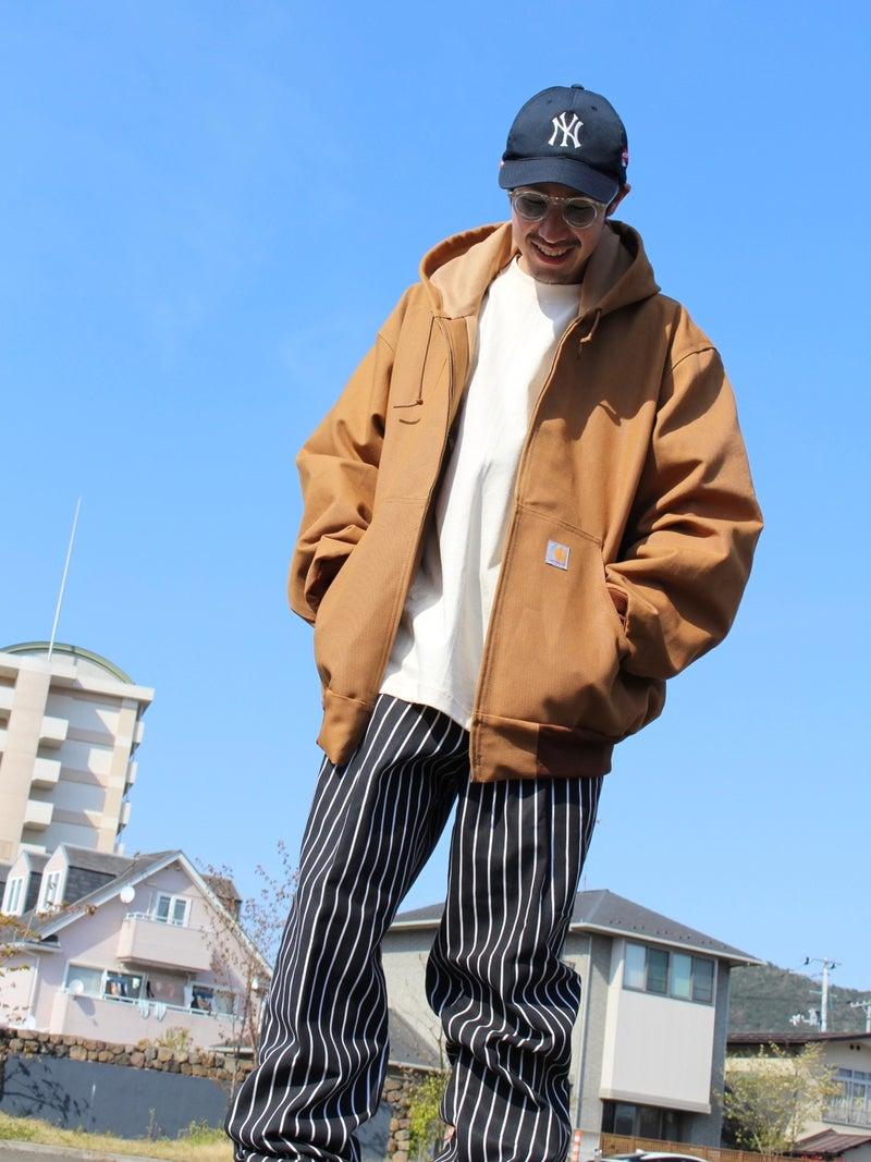 carhartt duck jacket 人気のカーハート ダックジャケット