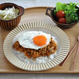【晩ごはんレシピ】ごはんに合う…!おいしい洋風そぼろプレートの画像