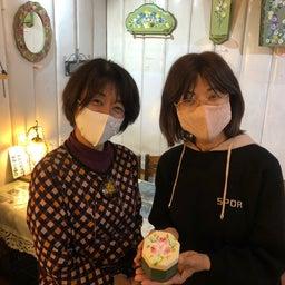 画像 画廊喫茶蜜さん4月12日と13日中村さとみトールペイント作品展 の記事より 6つ目