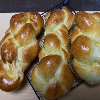 スイス風編みパン【ツォップフ】