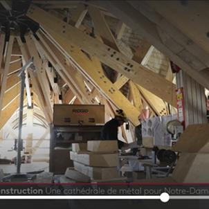 パリ・ノートルダム大聖堂修復の様子!の画像