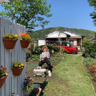 花いっぱいの実家の庭を紹介します♡1年かけて庭を育てました。