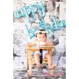 画像 一歳のお誕生日にプリザーブドフラワー花冠と可愛い画像 の記事より 5つ目
