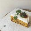 『pikkuonniのキャロットケーキ』と『カモミールとマーマレードのリンツァートルテ』