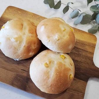 ♪基本の生地でコーンパン♪ 福岡市 翌日もふわふわ!手ごねン教室 パンびより