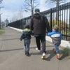 4月15日(木) お散歩・玉入れの画像