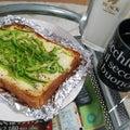 休日の朝はパン(^-^)