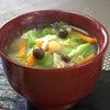今日のお味噌汁「春キャベツのお味噌汁」~Fromボナペティ~の画像