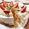 今が旬のイチゴのショートケーキ!の画像