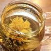 花巻市「モダンチャイニーズ蓮」のランチのコース・ポットで花開く工芸茶も