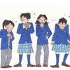 スカートで登校する男子高校生の画像