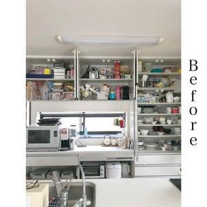 【ビフォーアフター】キッチン背面収納の画像