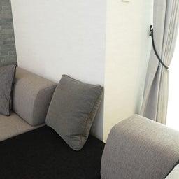 画像 マンションの家具の配置提案 ④ リビングと隣接する洋室とつなげて家具を配置!家具の配置換え提案も の記事より 13つ目