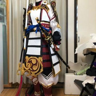 Fate/Grand Order 巴御前アーチャーインフェルノのコスプレ衣装製14
